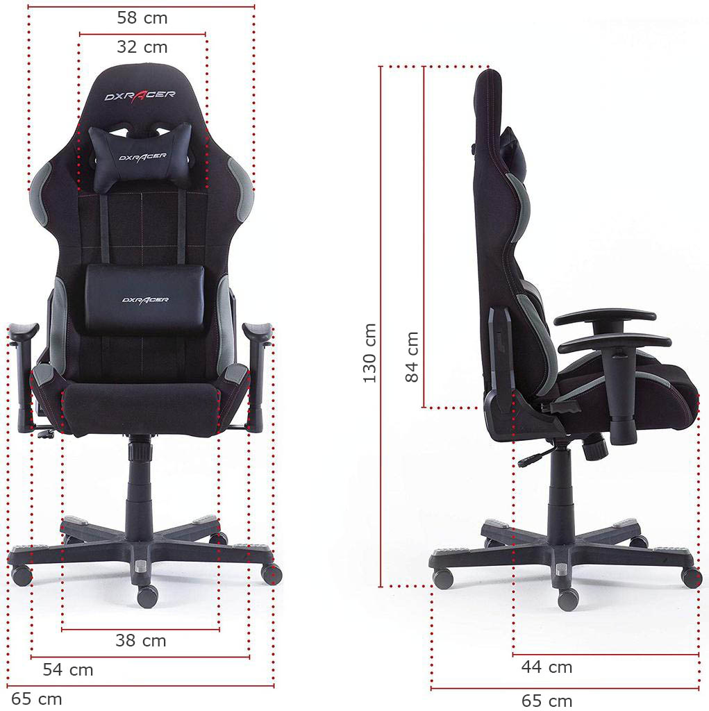DX Racer5 62505SG4 tamaño