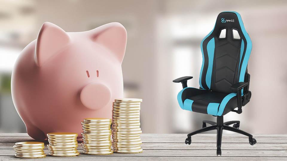 Las 4 sillas gaming más baratas