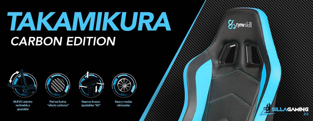 Newskill Takamikura Carbon Sky silla gamer