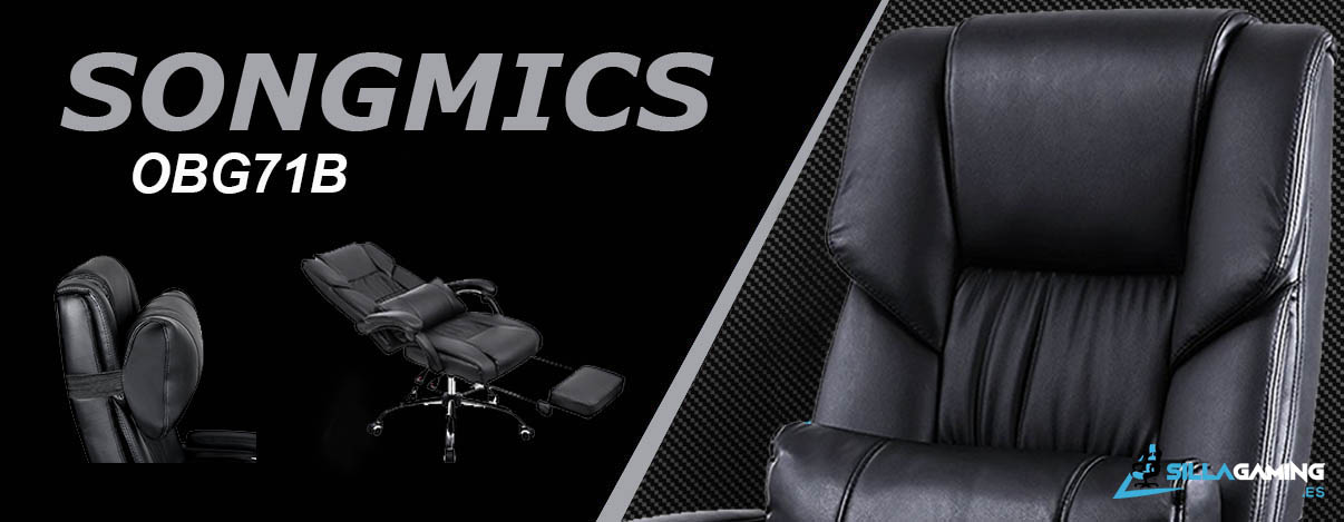 Songmics OBG71B mockup silla gaming