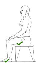 altura silla