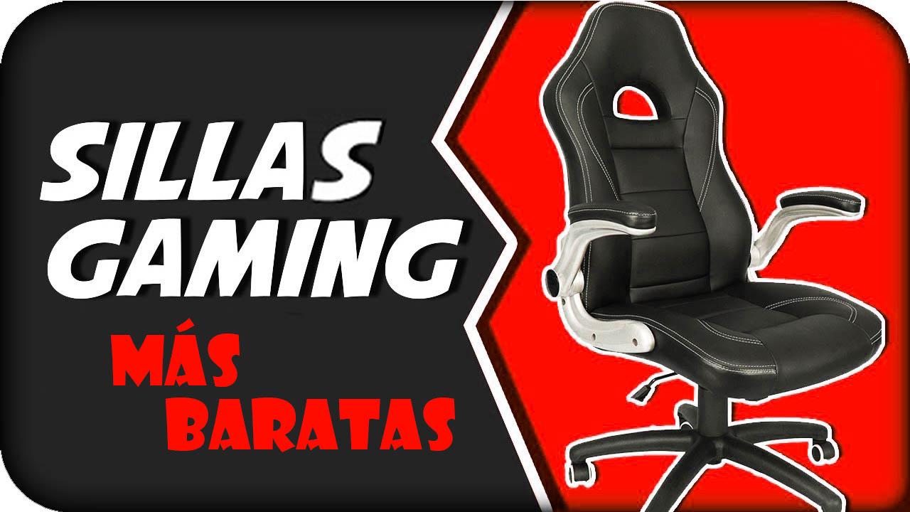 sillas gaming más baratas logo