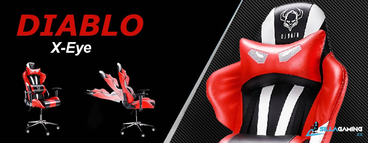 diablo x-eye silla gaming