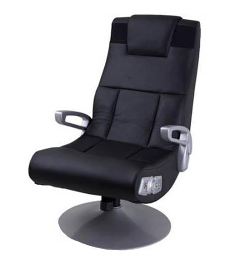 sillón gamer con base de pedestal