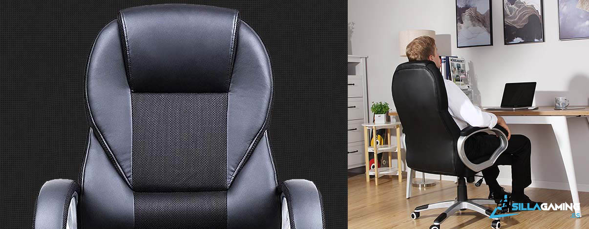 Songmics OBG22B silla de escritorio silla-gaming