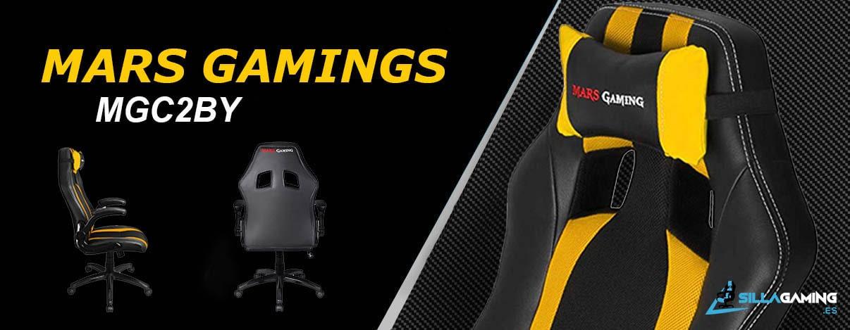 Mars Gaming MGC2BY silla gaming