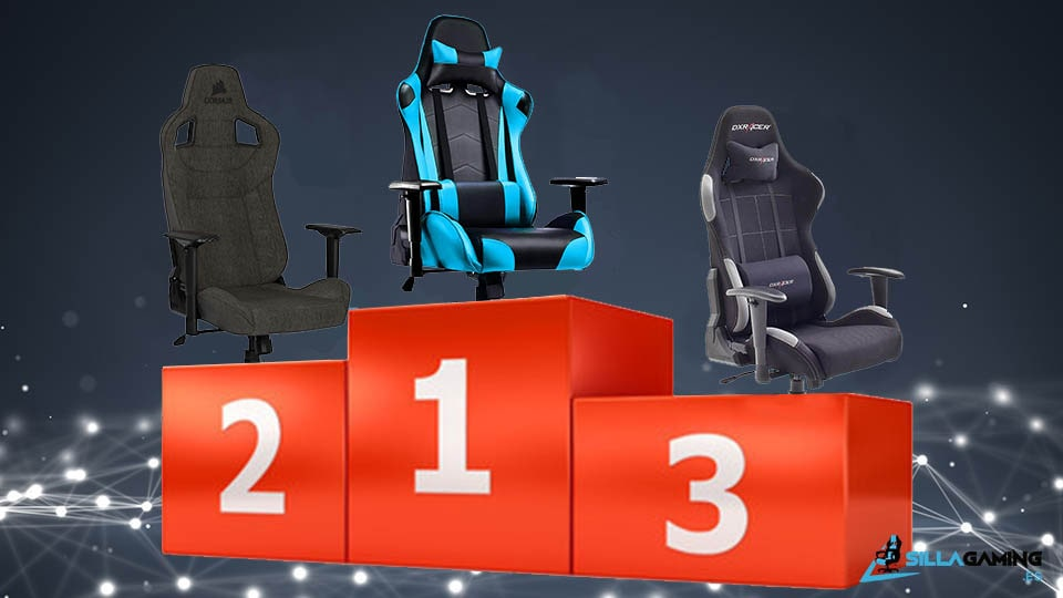 sillas gaming más vendidas de 2021